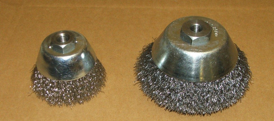 Threaded Bore Cup Brushes
